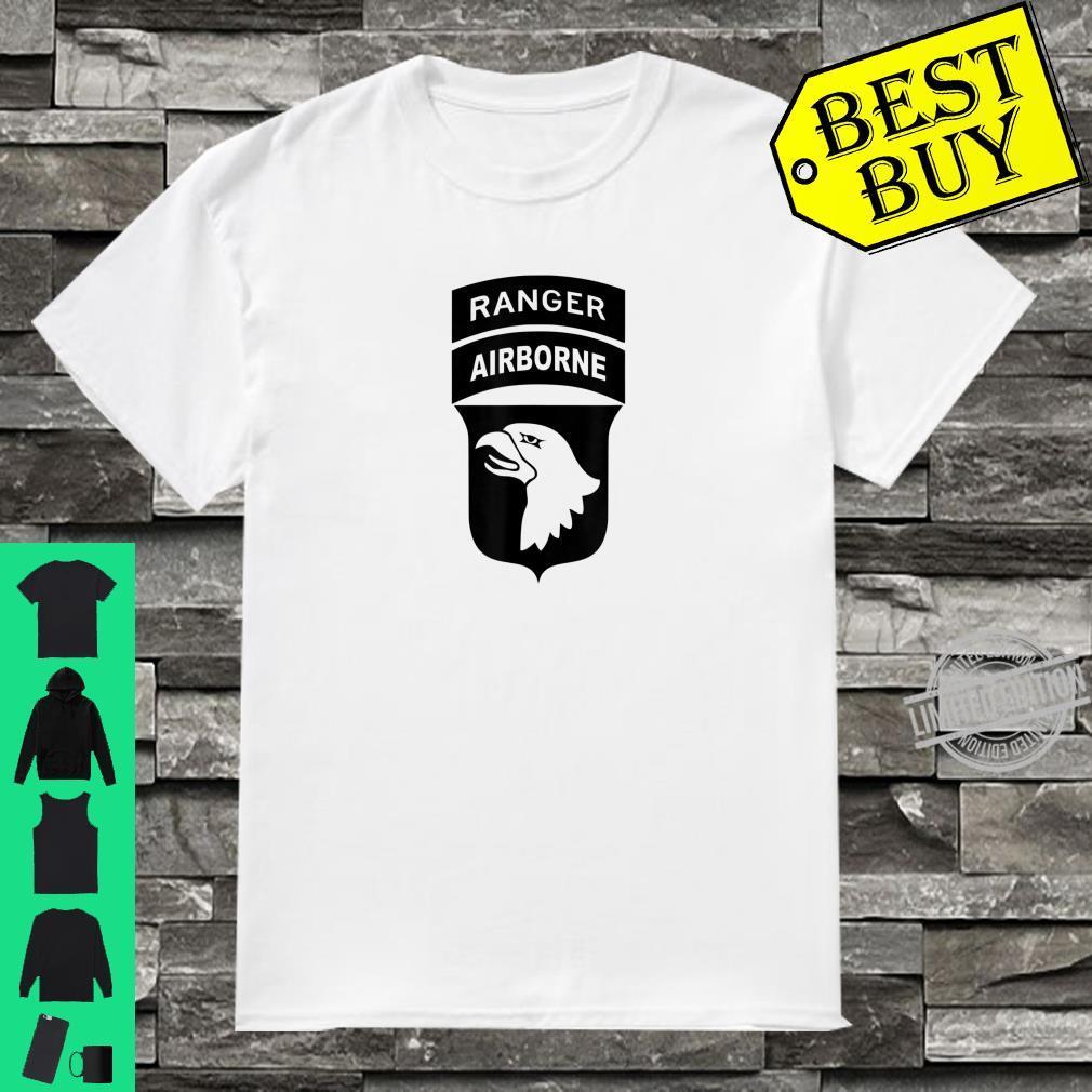 101st Airborne Division Patch Ranger Tab Center OD Shirt