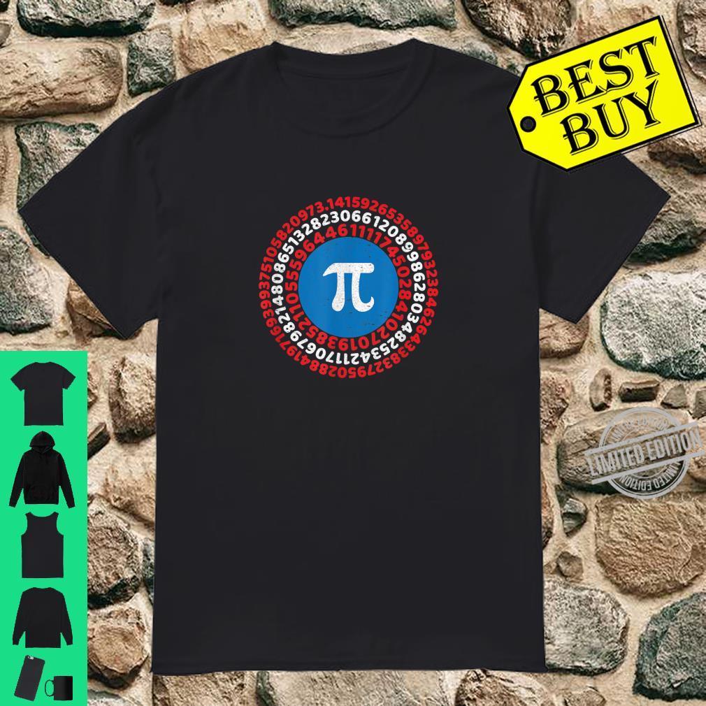 Captain Pi Superhero Pi Day 2020 Science Math Humor Shirt