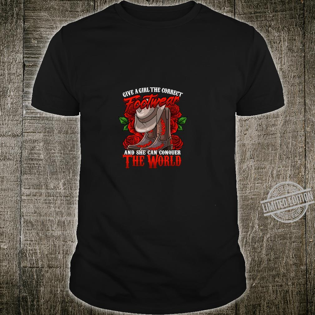 Cowgirl Country Western Boot cute Shirt