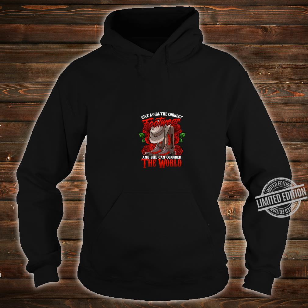 Cowgirl Country Western Boot cute Shirt hoodie