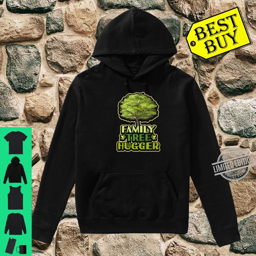 Family Tree Hugger Reunion Genealogy Shirt hoodie