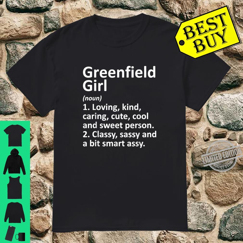 GREENFIELD GIRL IN INDIANA City Home Roots Shirt