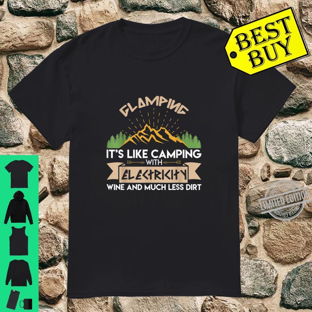Glamping Camping Shirt