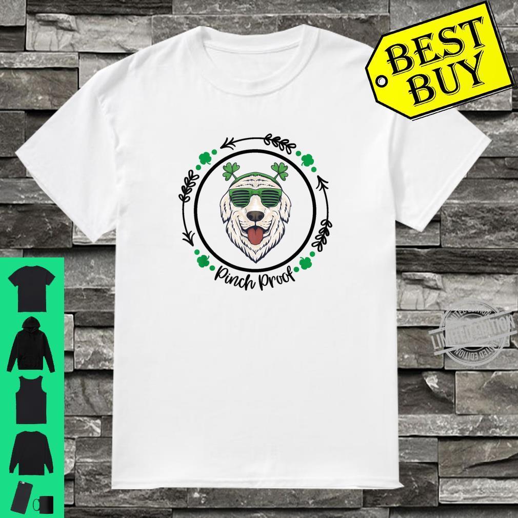 Golden Retriever Irish Creme Shamrock Dog St. Patricks Day Shirt