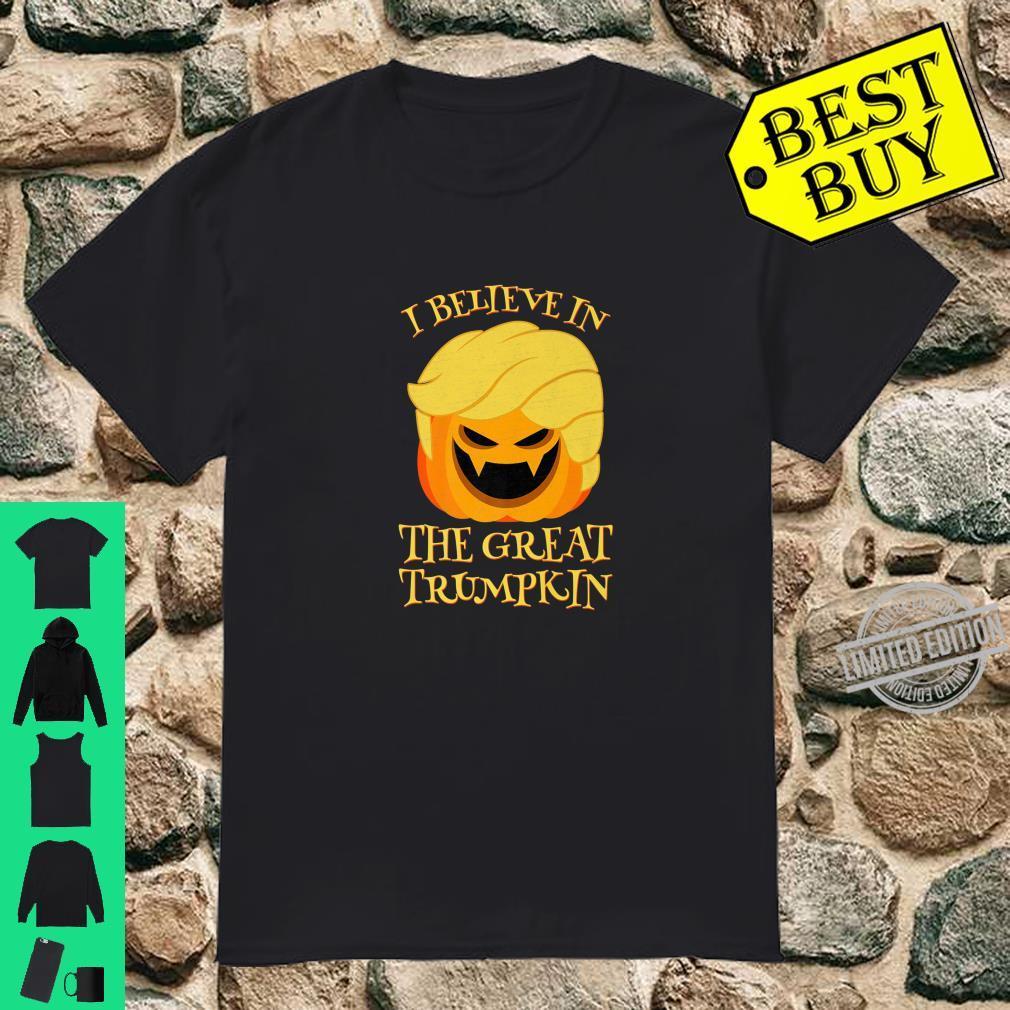 Halloween I Believe in the Great Trumpkin Shirt