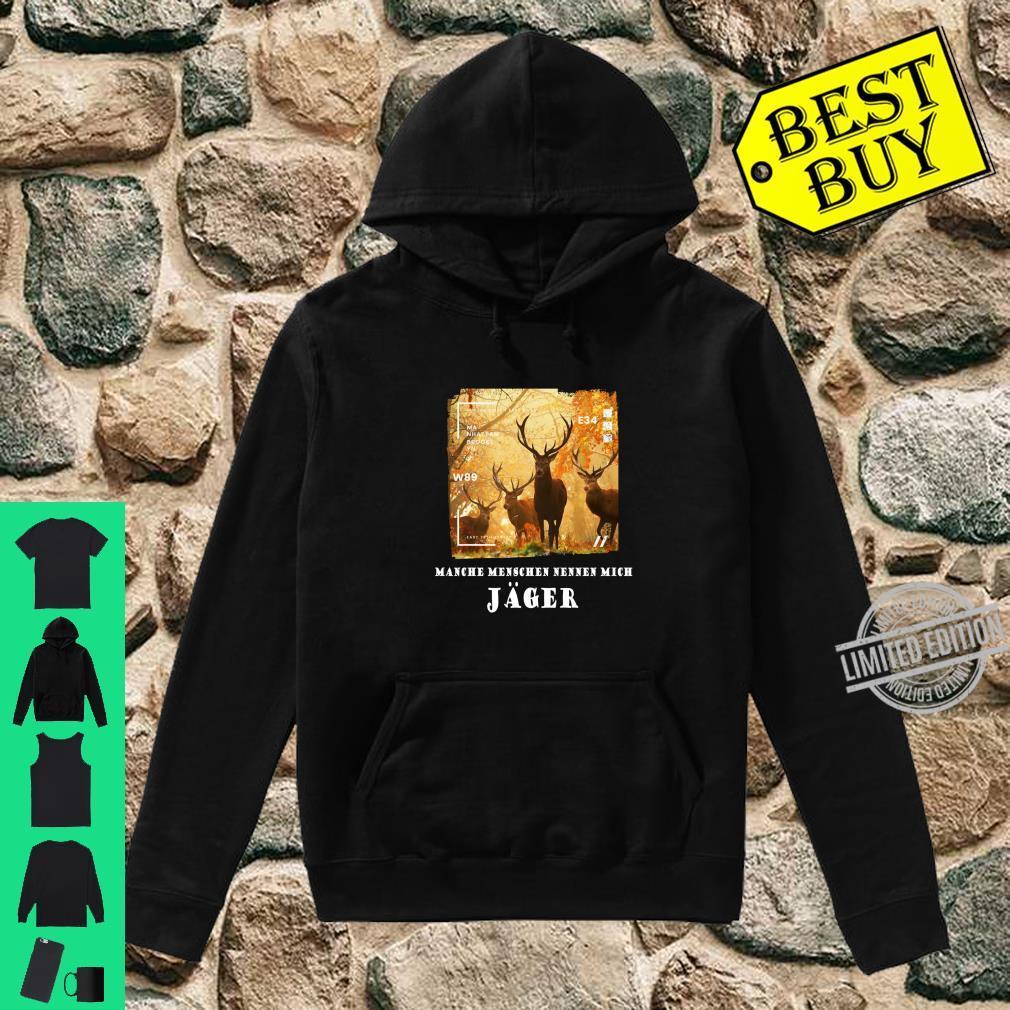 Hirsche Jäger Deer Awesome Cool Hirsch Langarmshirt Shirt hoodie