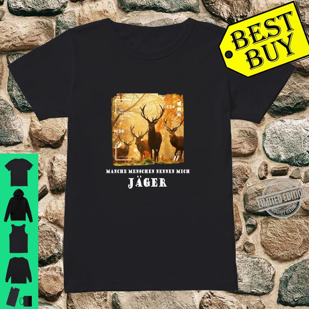 Hirsche Jäger Deer Awesome Cool Hirsch Langarmshirt Shirt ladies tee