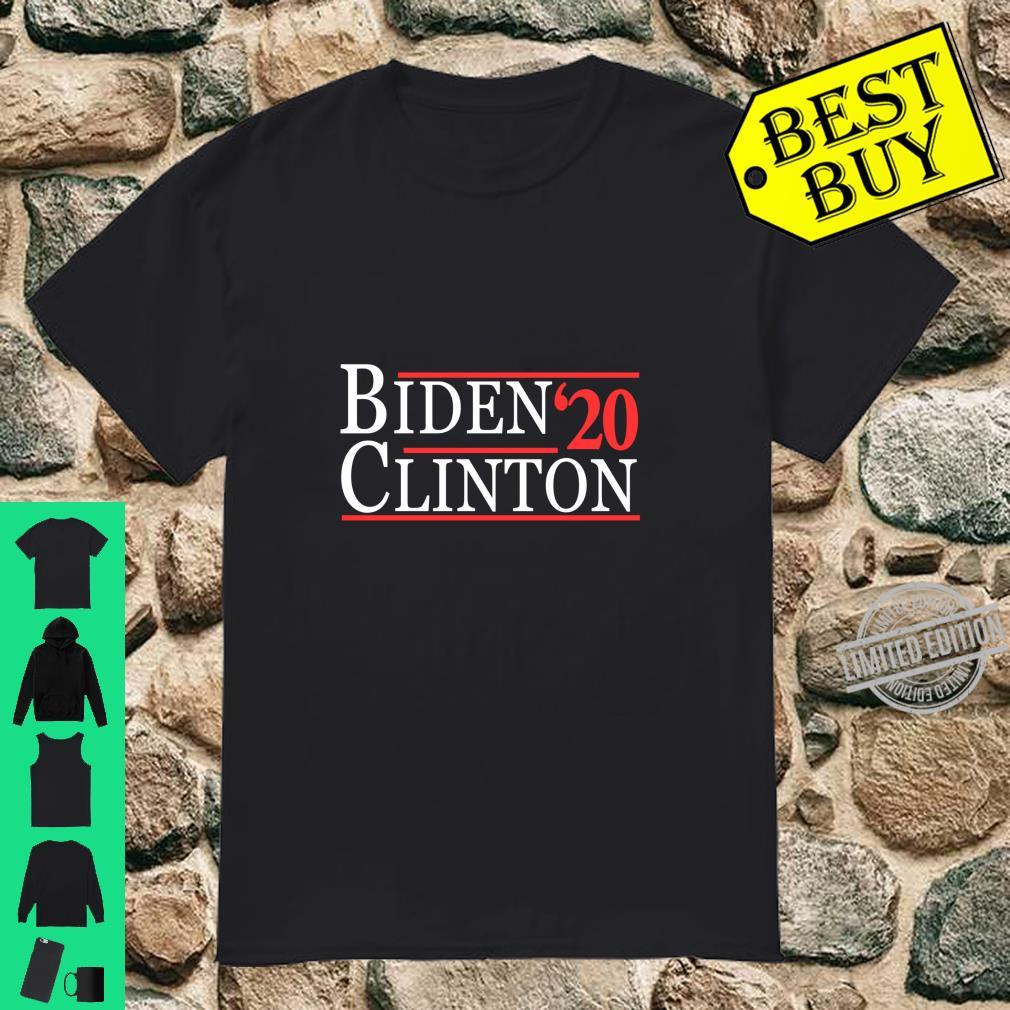 Joe Biden and Hillary Clinton 2020 Langarmshirt Shirt