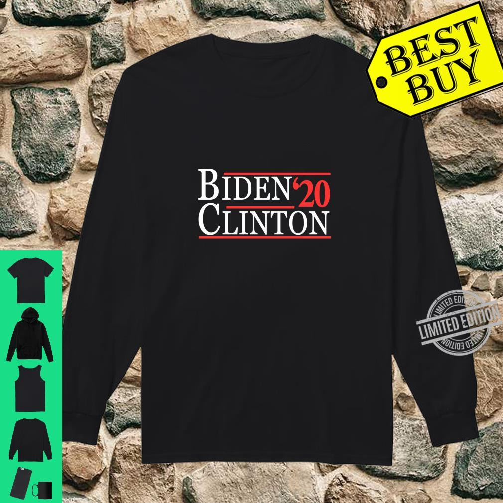 Joe Biden and Hillary Clinton 2020 Langarmshirt Shirt long sleeved