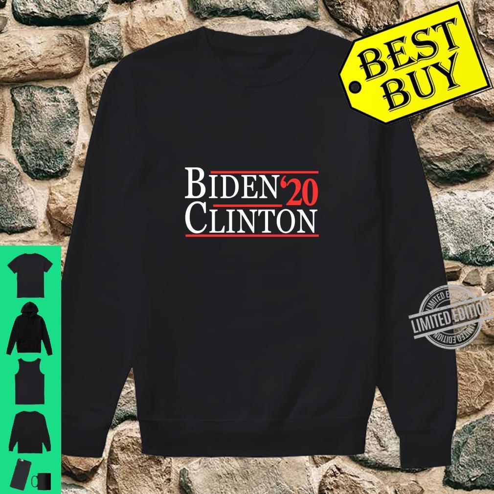 Joe Biden and Hillary Clinton 2020 Langarmshirt Shirt sweater