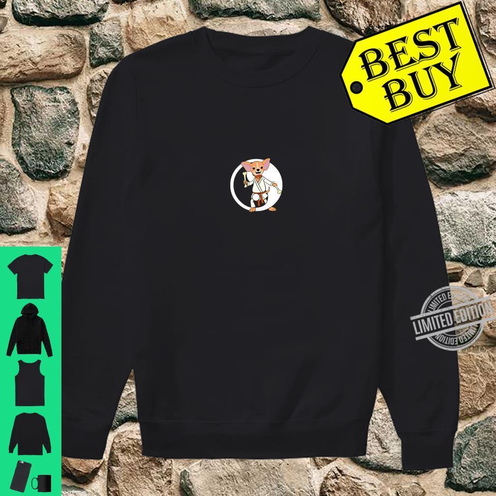 Karate Chihuahua Martial Arts Black Belt Shirt sweater