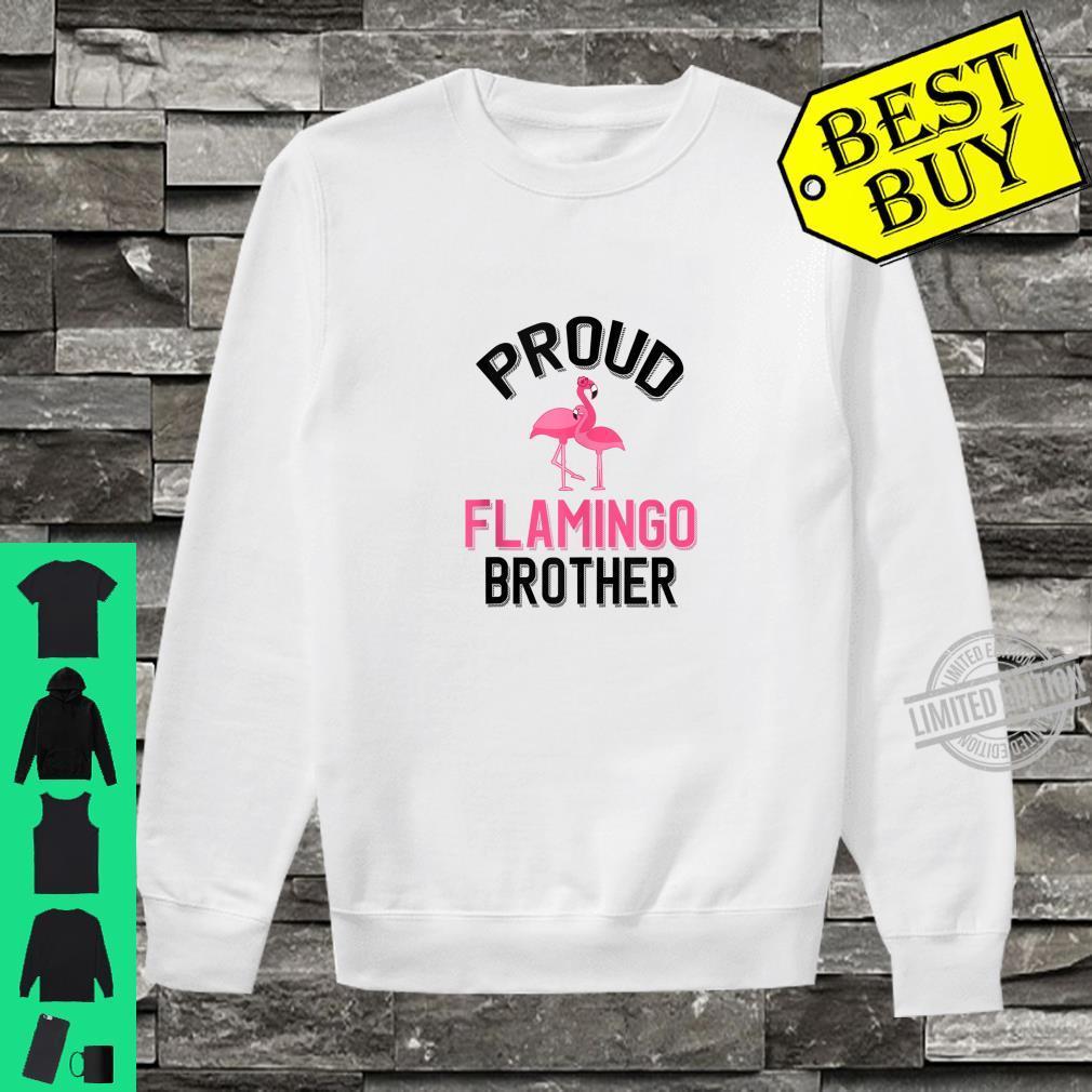 Mens Proud Flamingo Brother Flamingo Pet Owner Shirt sweater