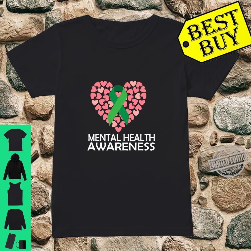 Mental Health Awareness Month, and Shirt ladies tee