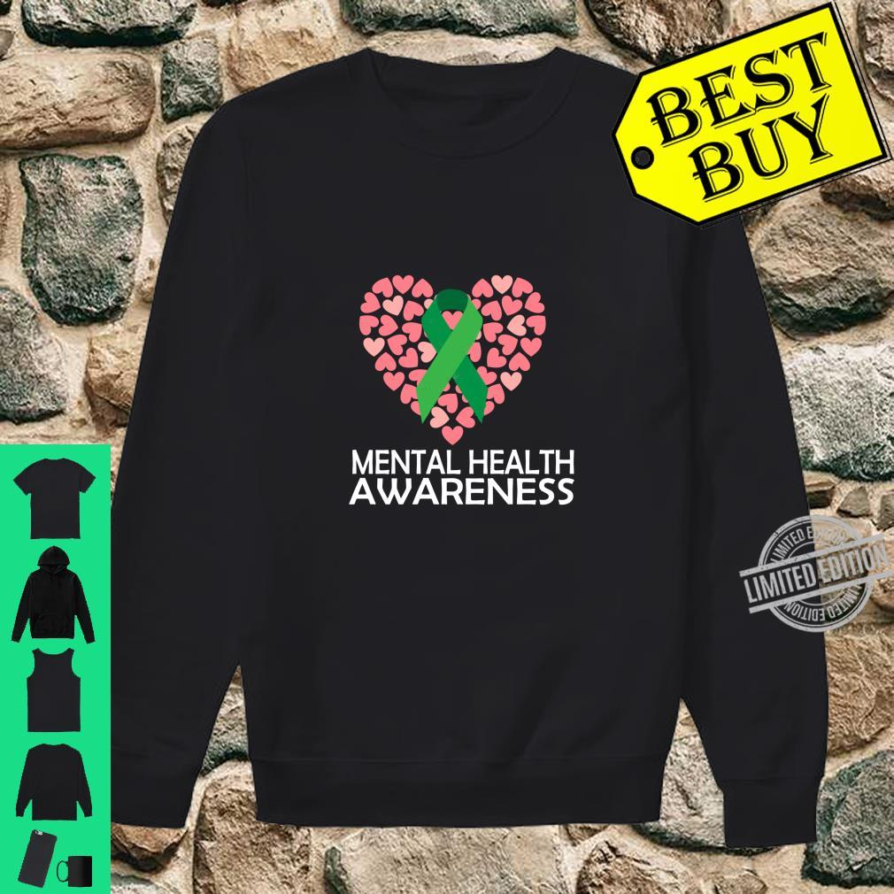 Mental Health Awareness Month, and Shirt sweater