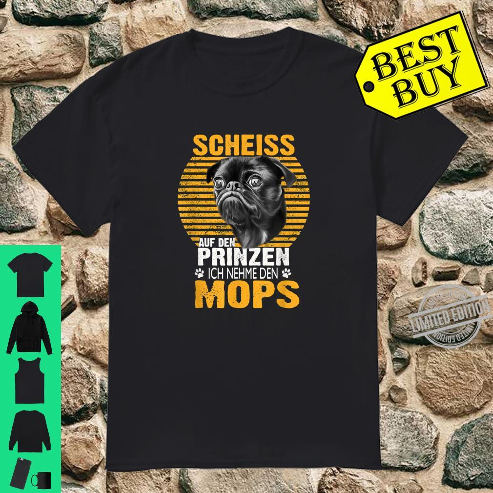 Mops Hund Haustier Geschenk Shirt