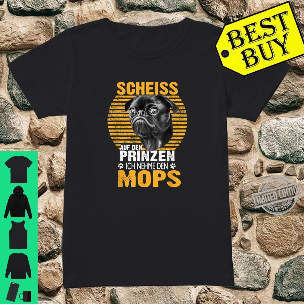 Mops Hund Haustier Geschenk Shirt ladies tee