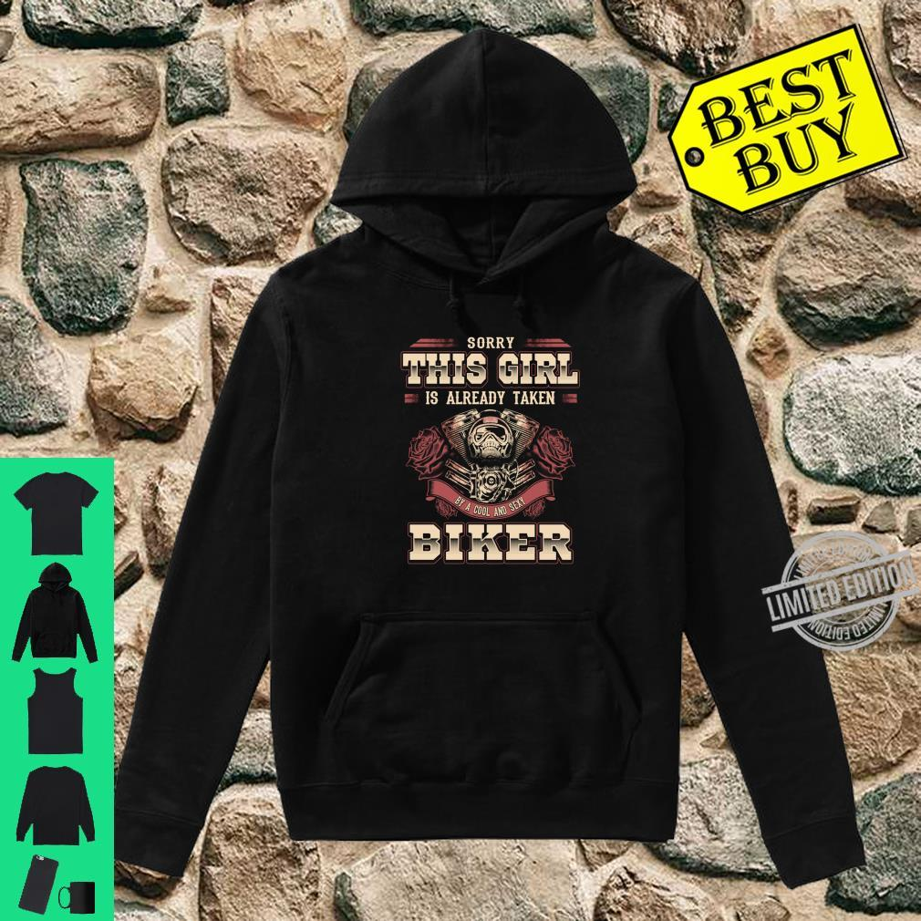 Motorcycle Babe Sorry I'm Already Taken By Hot Biker Shirt hoodie