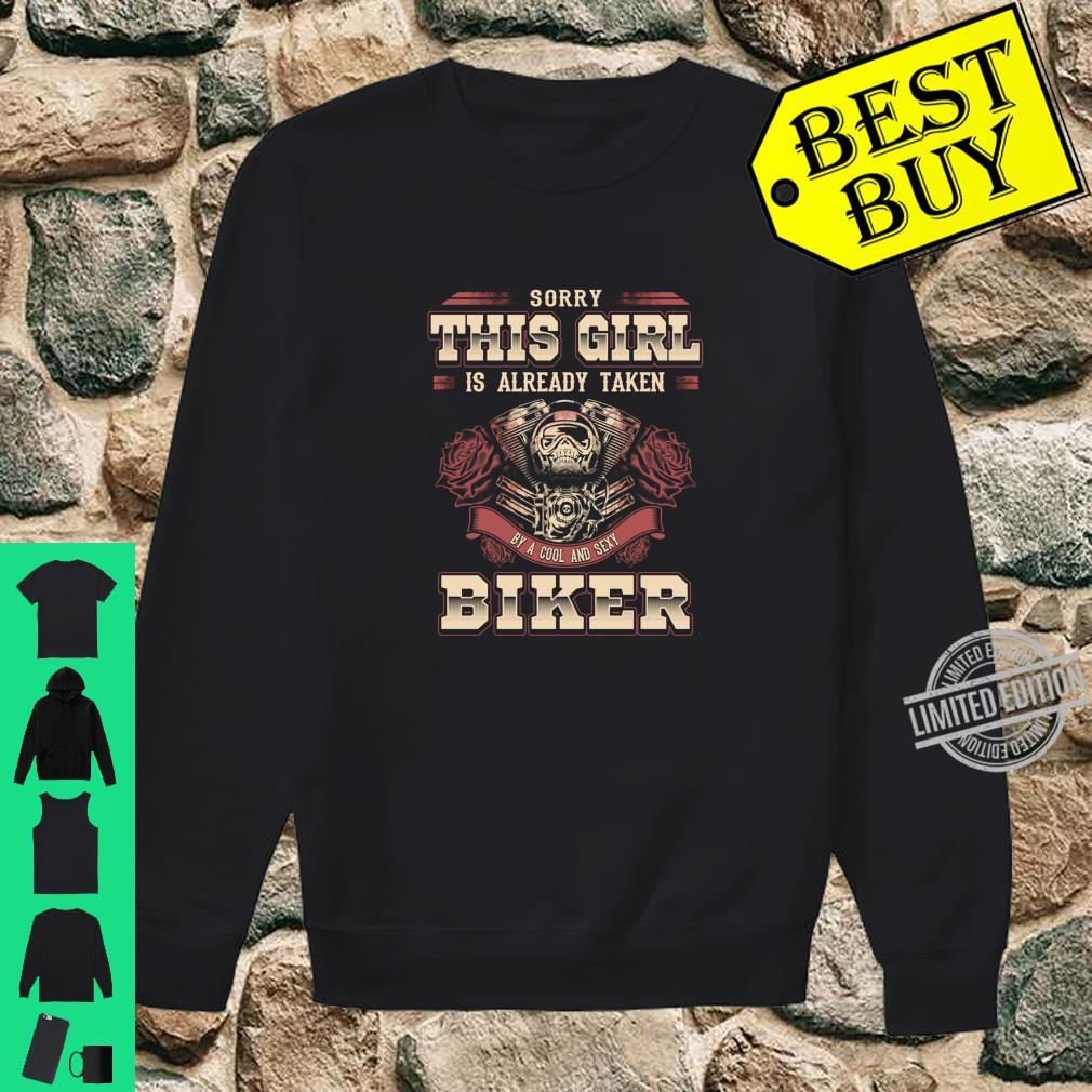 Motorcycle Babe Sorry I'm Already Taken By Hot Biker Shirt sweater