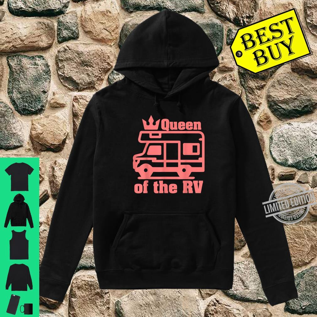 Queen Of The RV Camping RVs Shirt hoodie