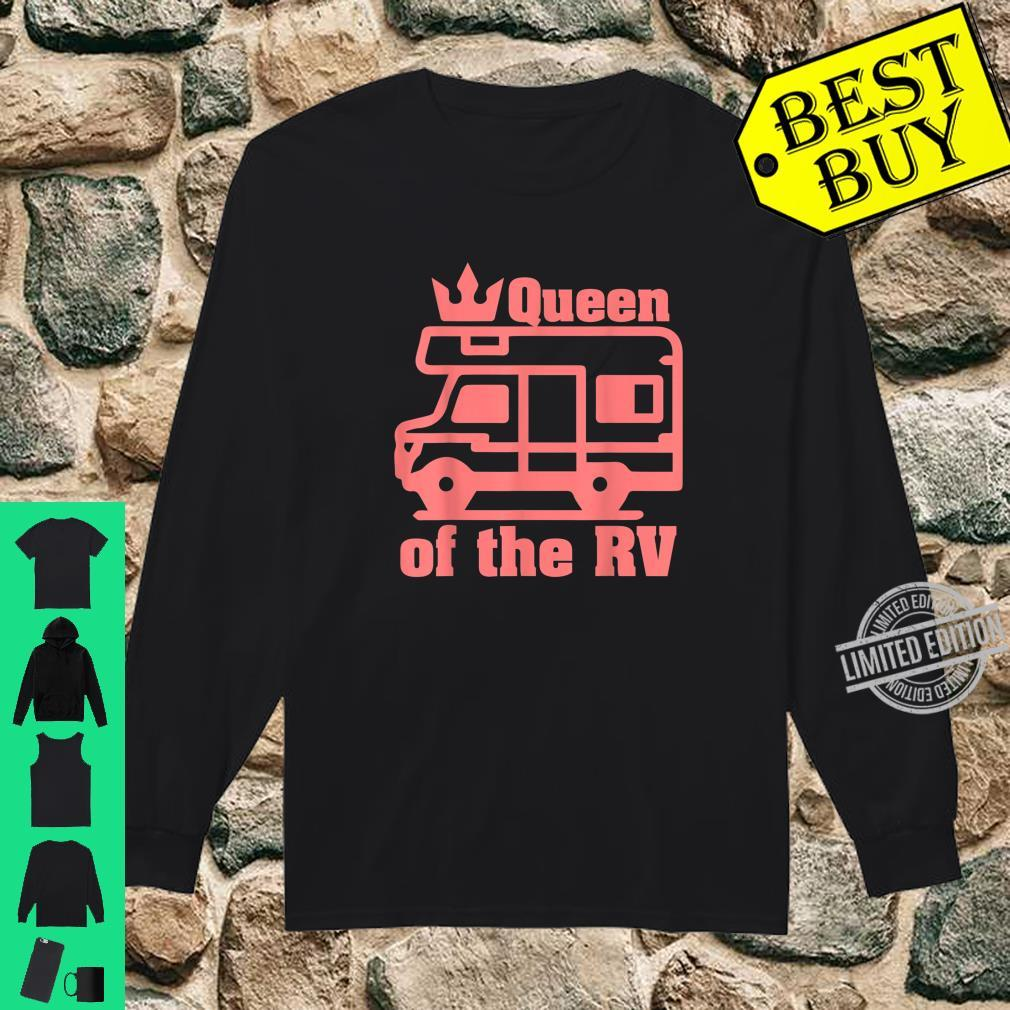 Queen Of The RV Camping RVs Shirt long sleeved