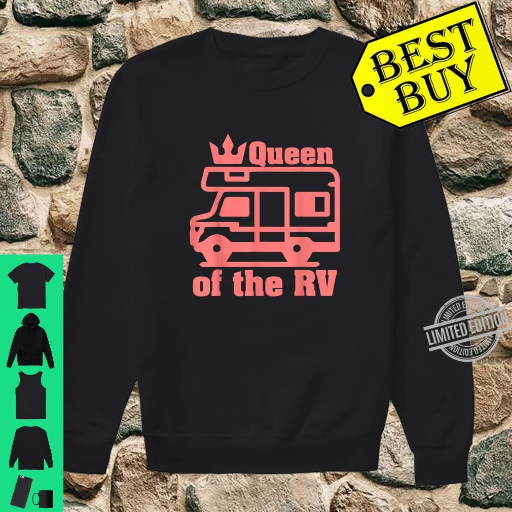 Queen Of The RV Camping RVs Shirt sweater