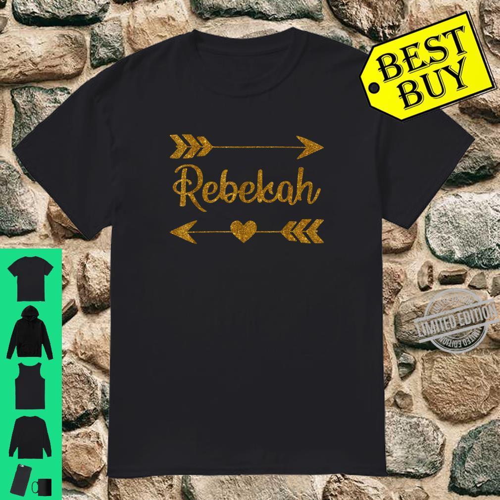REBEKAH Personalized Mom Name Birthday Custom Shirt