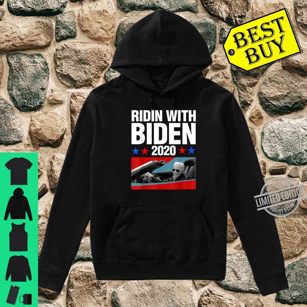 Ridin With Biden 2020 Vintage Car Joe Biden President Shirt hoodie