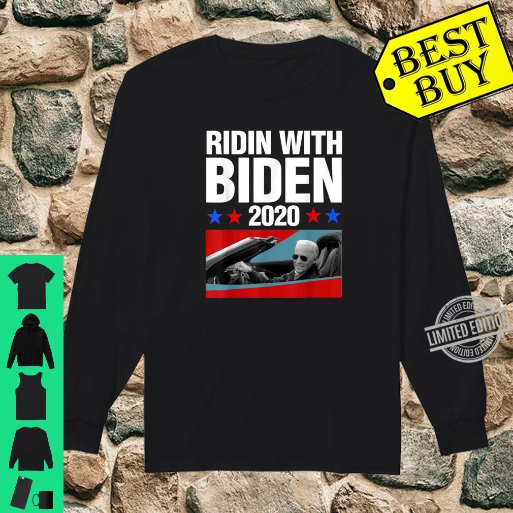 Ridin With Biden 2020 Vintage Car Joe Biden President Shirt long sleeved