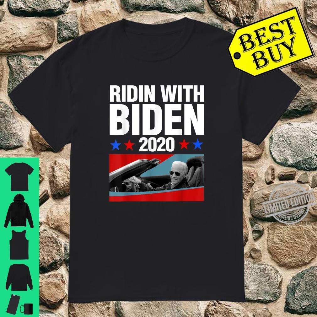 Ridin With Biden 2020 Vintage Car Joe Biden President Shirt
