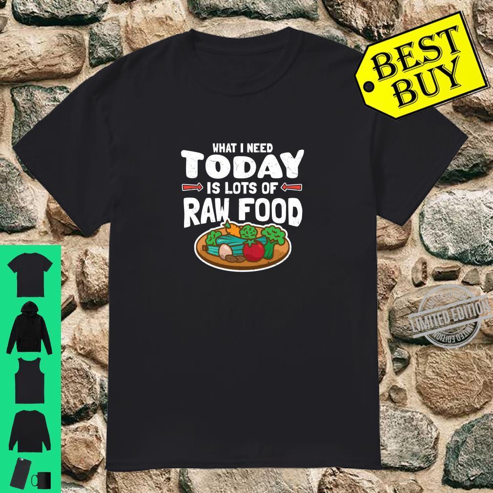 Rohkost Lustiges Rohkostgeschenk Shirt