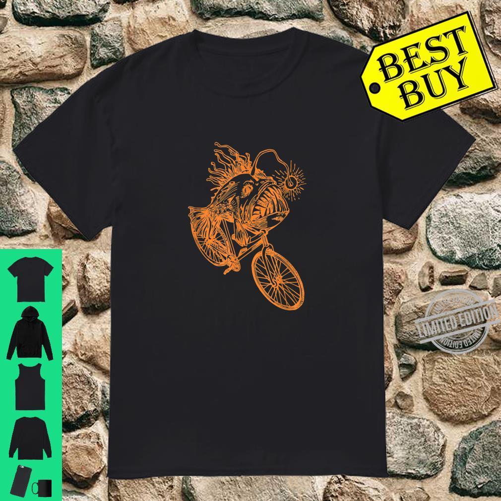 SEEMBO Anglerfish Cycling Bicycle Bicycling Biking Fun Bike Shirt