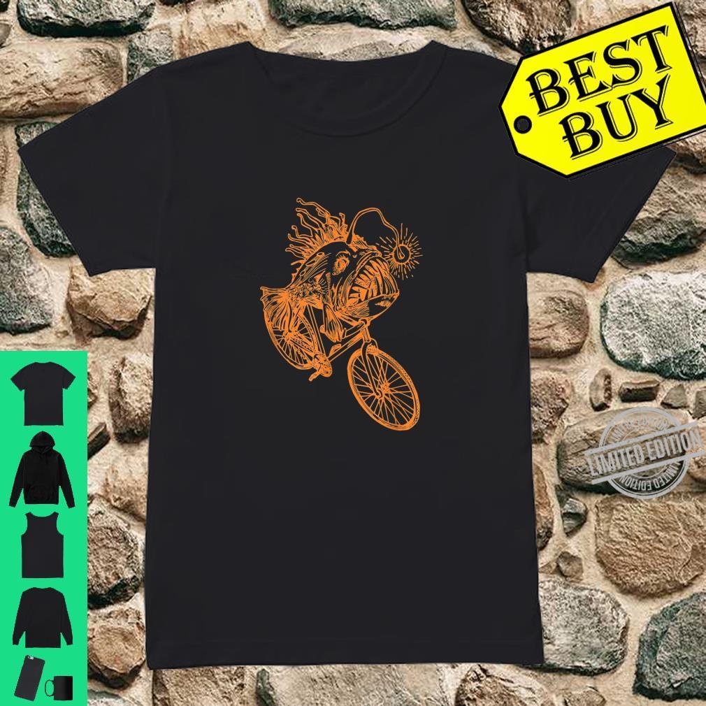 SEEMBO Anglerfish Cycling Bicycle Bicycling Biking Fun Bike Shirt ladies tee