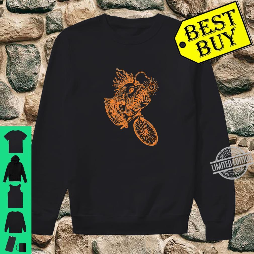 SEEMBO Anglerfish Cycling Bicycle Bicycling Biking Fun Bike Shirt sweater