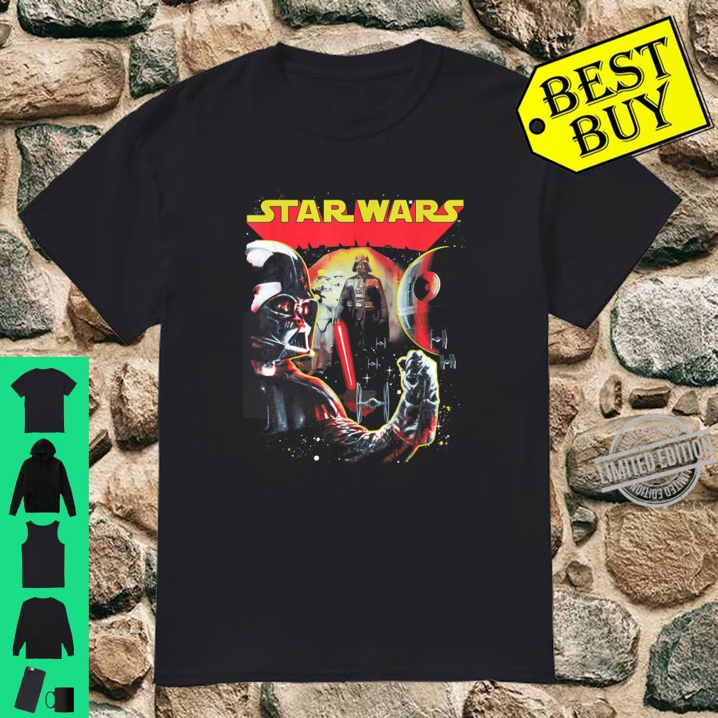 Star Wars Darth Vader Death Star Double Shirt