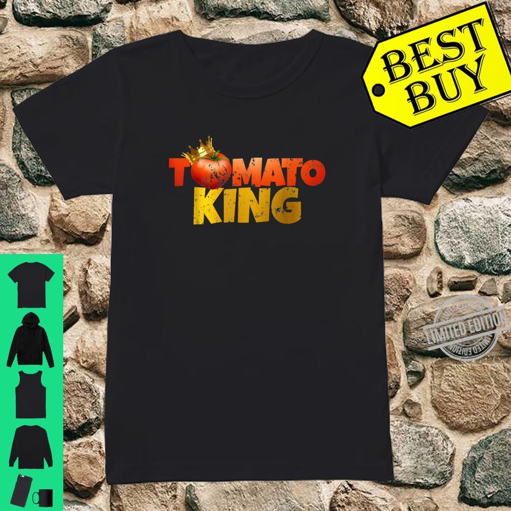 Tomato Tomato King Shirt ladies tee