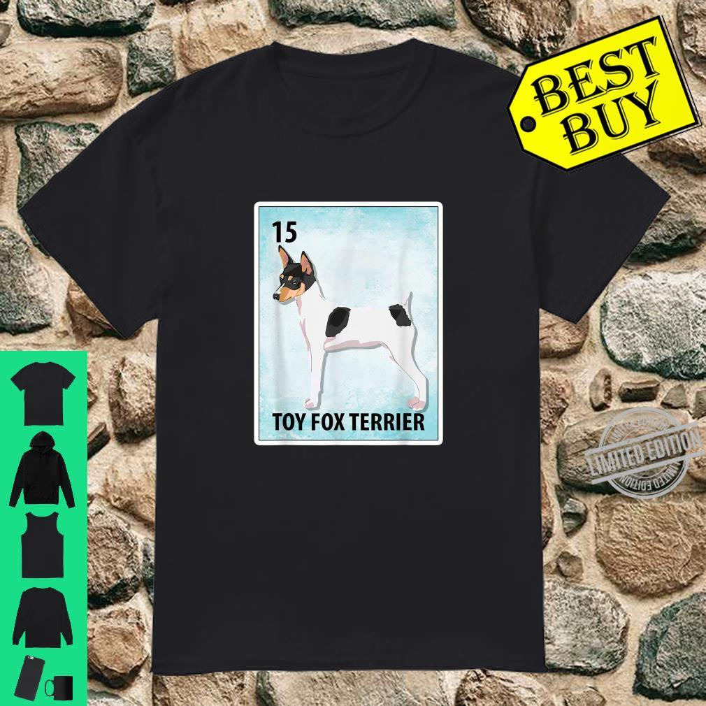 Toy Fox Terrier Mexican Dog Cards Shirt