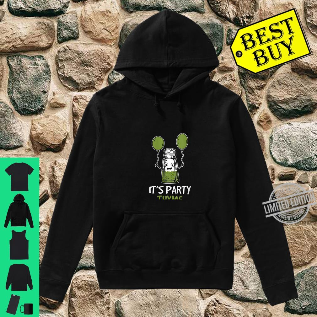 Womens Herbs Design It's Party Thyme Play on Words Shirt hoodie