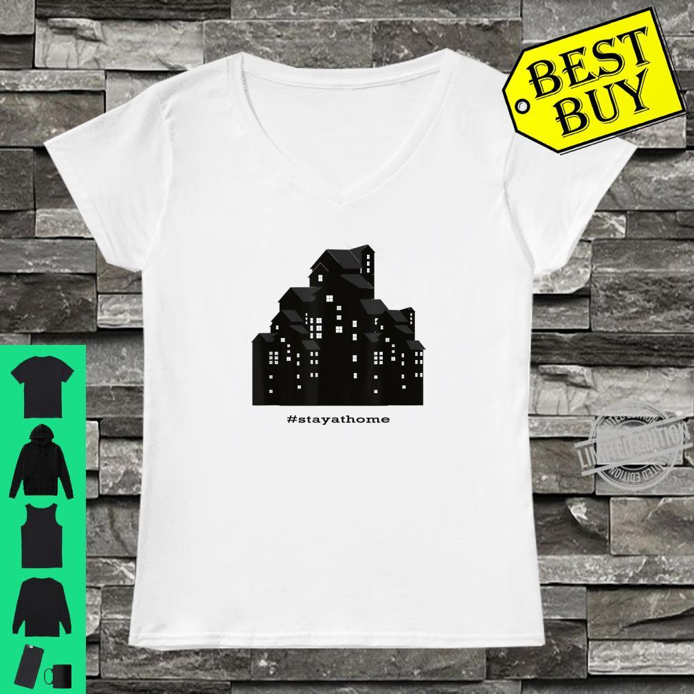 #stayathome Stay At Home Shirt ladies tee